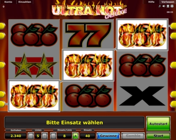 casino online book of ra ultra hot deluxe