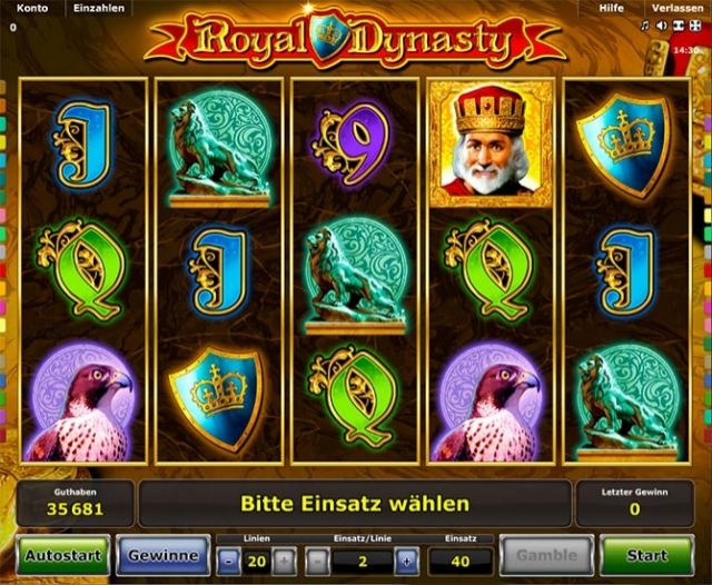 Spiele Royal Dynasty - Video Slots Online