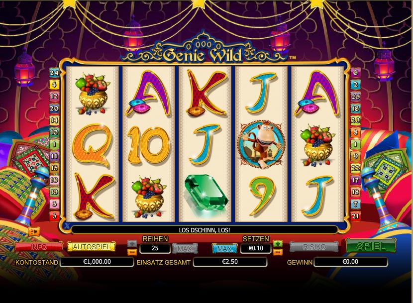 Spiele Golden Genie - Video Slots Online