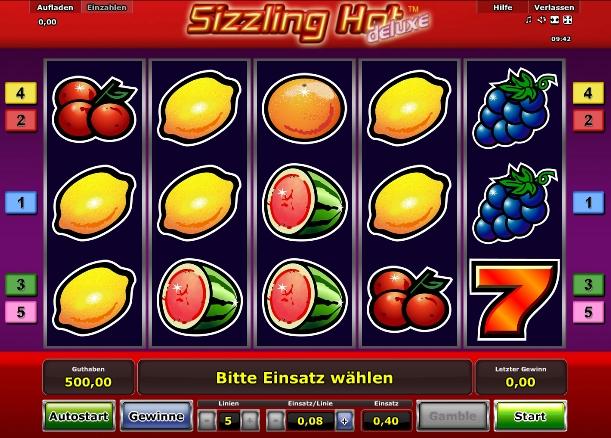 Sizzling Hot gratis online